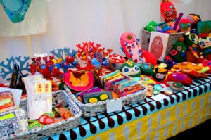 craft fair table