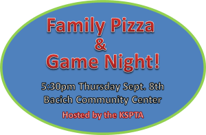 pizza & game night